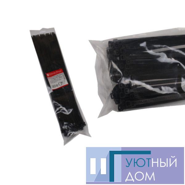 Стяжка кабельная чёрная 5×500