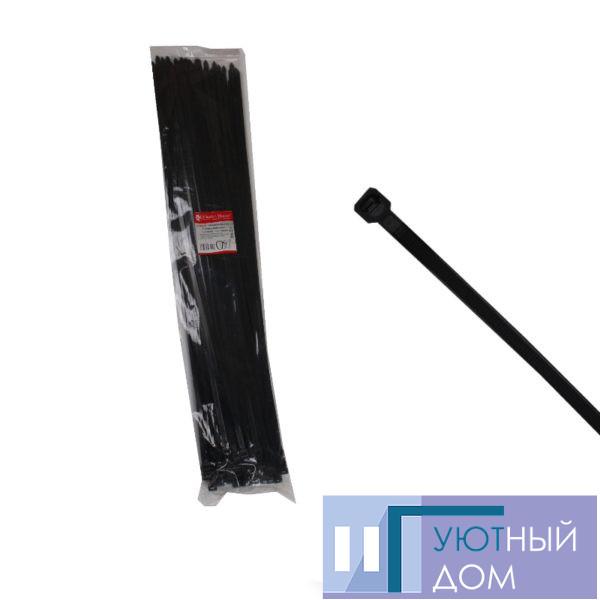 Стяжка кабельная чёрная 9×800