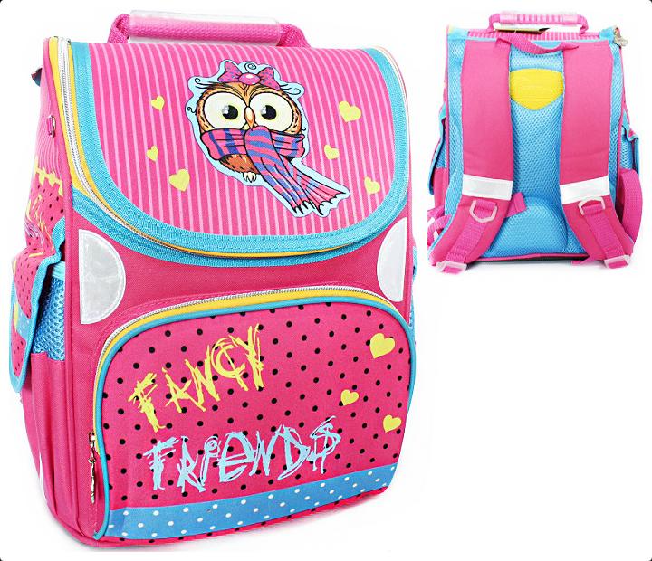 65dd2876dc1a Рюкзак ранец школьный Owl RAINBOW 8-507 для девочки, Rainbow, 526,45 ...
