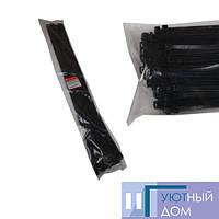 Стяжка кабельная чёрная 9×1000