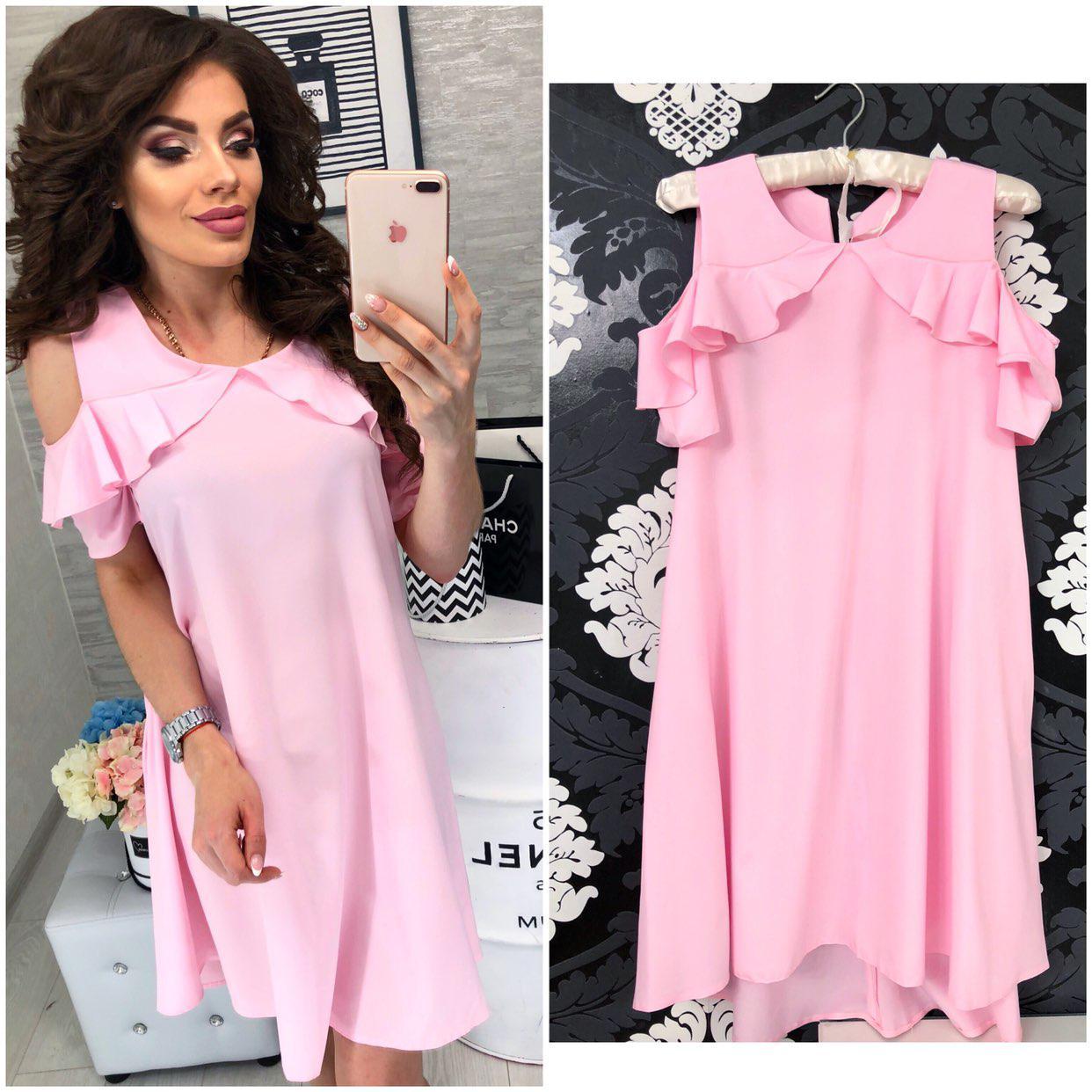Платье 785 розовый
