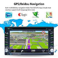 Автомагнитола 2 DIN Tian-Su 6002b ANDROID 7.1 (GPS, USB, DVD) НОВИНКА 2019