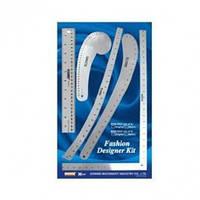 Набор линеек-лекал (DW-FK02)