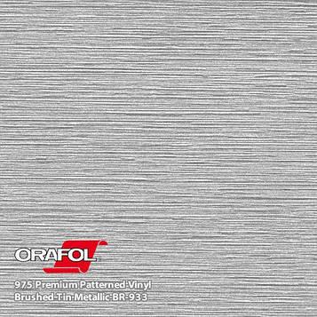 Oracal 975 Brushed Premium Structure Cast Titan Metallic