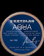 Коричневый аквагрим AQUACOLOR 55мл(оттенок NB1)