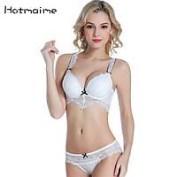 Сексуальный белый набор нижнего белья размер 75В