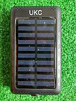 Портативное зарядное устройсто Power Bank UKC 18800mah 2 в 1 Solar+Led