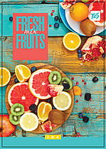 Тетрадь Yes A6 боковая спираль 80 листов клетка Fresh fruits