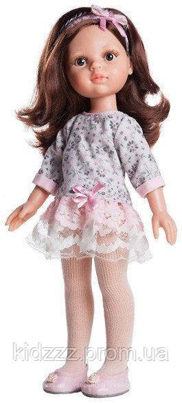 Кукла Кэрол в платье гипюр, 32 см Paola Reina (Паола Рейна, Испания)