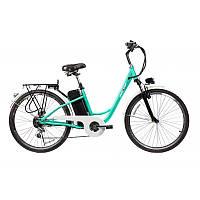 Электровелосипед Maxxter CITY LightBlue