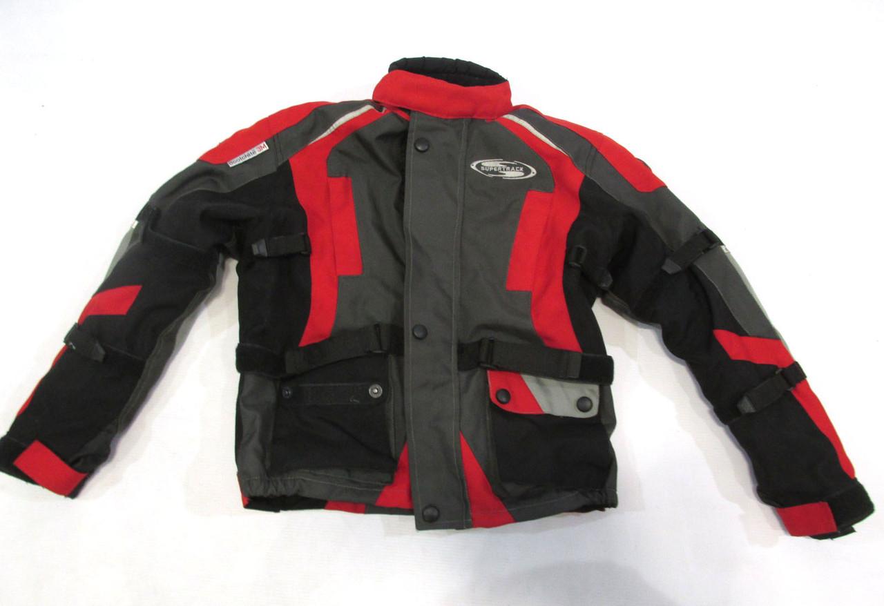 Куртка мотокуртка детская Supertrack, L (на ~ 10-12 лет), защита сп, п