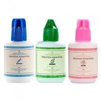 Знежирювач для нарощування вій Sky 15 ml Protein remover (Pink, Green Tea, Collagen Sea) Троянда, 15