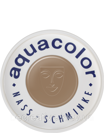 Коричневый аквагрим AQUACOLOR 30мл(оттенок OB 1)