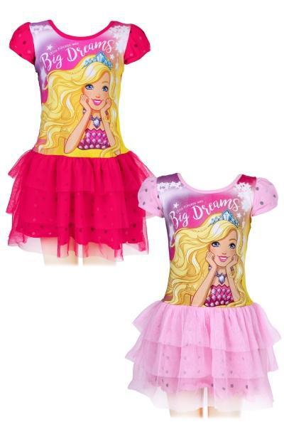 Платье трикотажное  для девочки оптом, Дисней, размеры 104-140, арт. 640-048