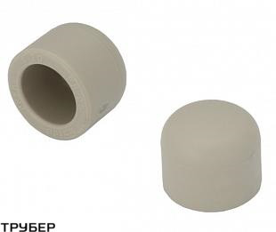 Заглушка заварная D 50 полипропилен KALDE (серое)