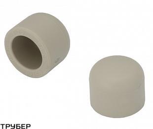 Заглушка заварная D 63 полипропилен KALDE (серое)