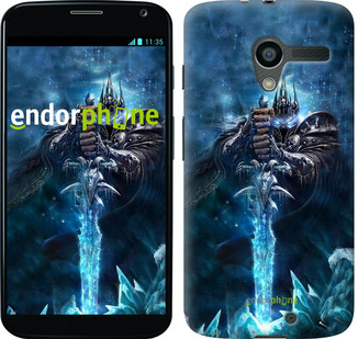 Чехол на Motorola Moto X World of Warcraft. King