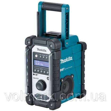Аккумуляторный радиоприемник Makita DMR 110, фото 2