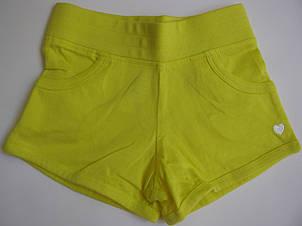 Трикотажные желтые шорты (Размер 5Т) Carters (США)