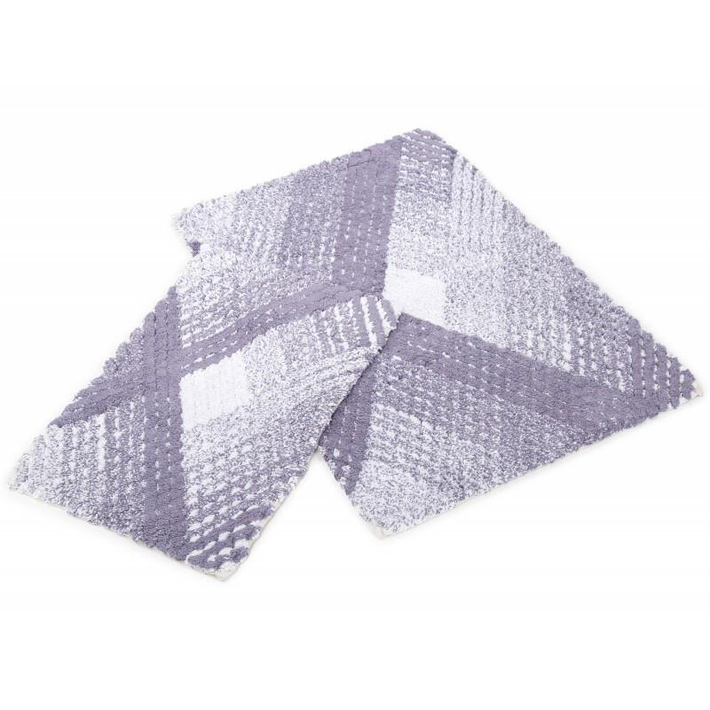 Набор ковриков Irya - Wall mor фиолетовый 60*90+40*60