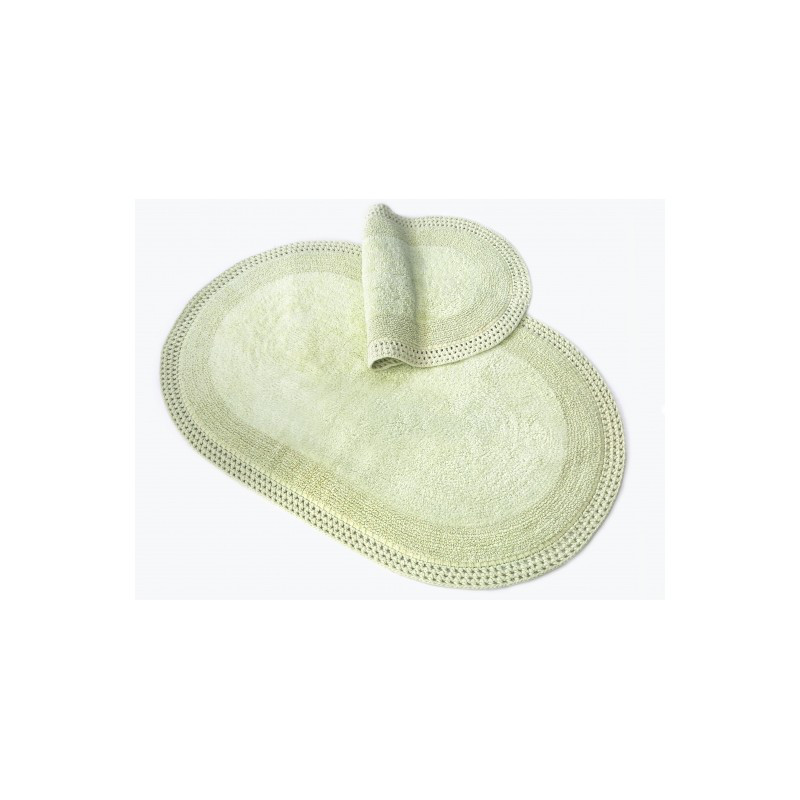 Набор ковриков Irya - Laverne yesil зелёный 60*100+40*60