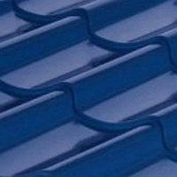 Ruukki 0,45 мм Монтеррей синяя РЕ глянец 25 мк 20 лет