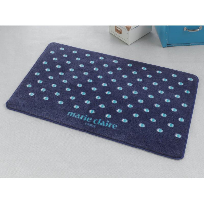 Коврик для ванной Marie Claire - Lodi темно синий 66*107