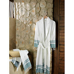 Домашняя одежда Buldans - Халат Lykia голубой L/XL
