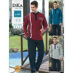 Домашняя одежда Dika - Пижама мужская 4853 L синий