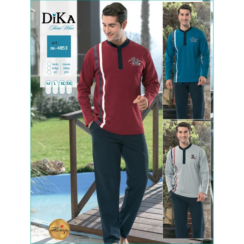 Домашняя одежда Dika - Пижама мужская 4853 M синий