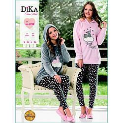 Домашняя одежда Dika - Пижама женская 4708 S серый