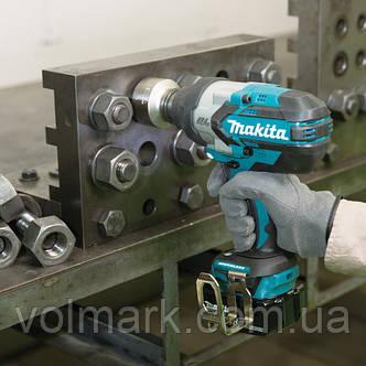 Аккумуляторный гайковерт Makita DTW 1001 Z (без АКБ), фото 2