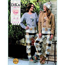 Домашня одяг Dika - Піжама жіноча 4624 L бежевий