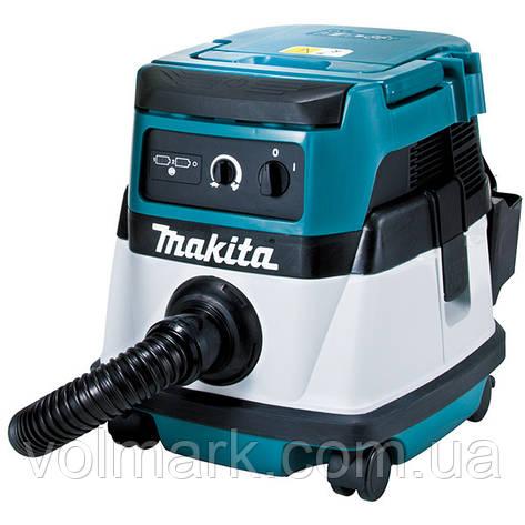 Аккумуляторный пылесос Makita DVC 860 LZ, фото 2