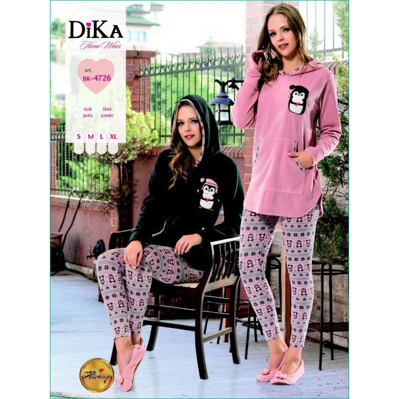 Домашняя одежда Dika - Пижама женская 4726 S розовый