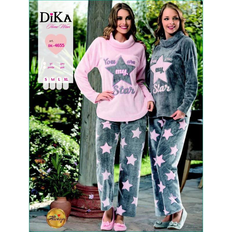 Домашняя одежда Dika - Пижама женская 4655 L розовый