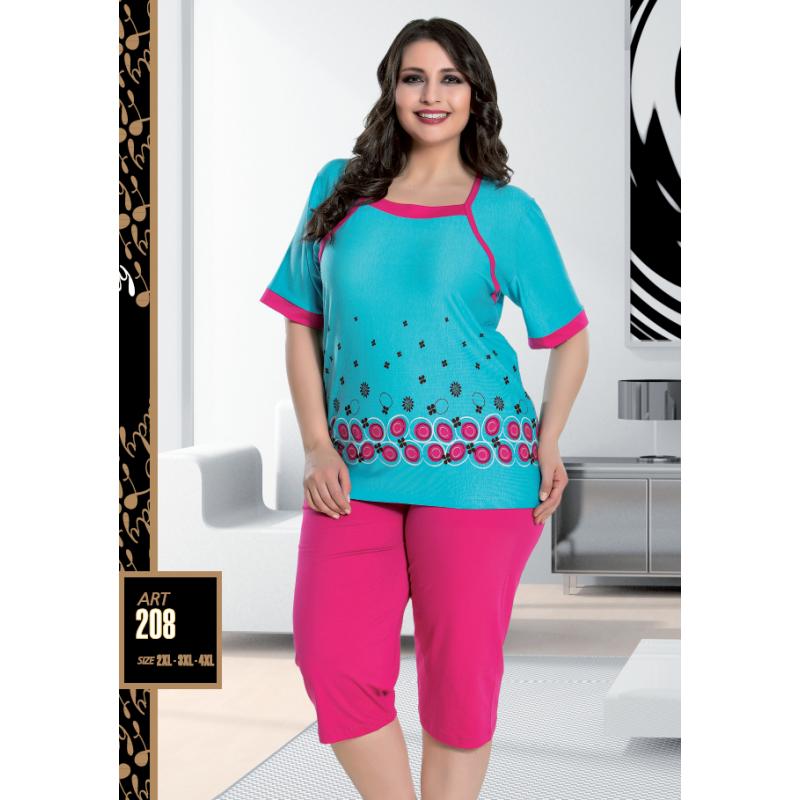 Домашняя одежда Lady Lingerie - 208 2XL комплект