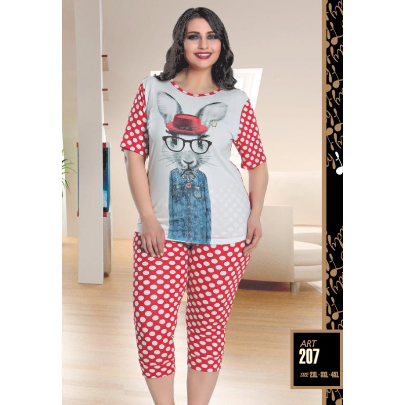 Домашняя одежда Lady Lingerie - 207 2XL комплект