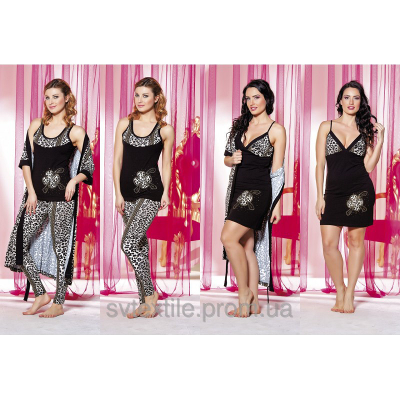 Домашняя одежда Lady Lingerie - 13000 ST комплект (4 предмета)