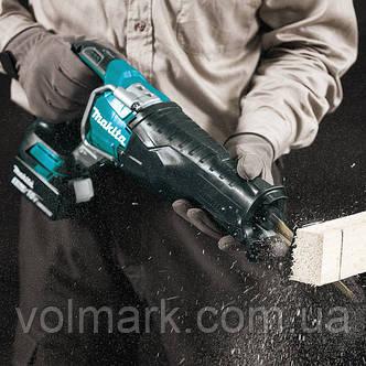 Аккумуляторная ножовка Makita DJR 187 Z (без АКБ), фото 2