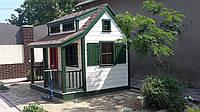 Игровой домик из дерева для ребенка, изготовление.