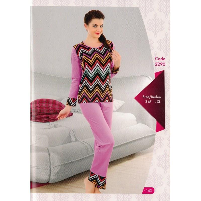 Домашняя одежда Night Angel - Пижама женская 2290 L/XL