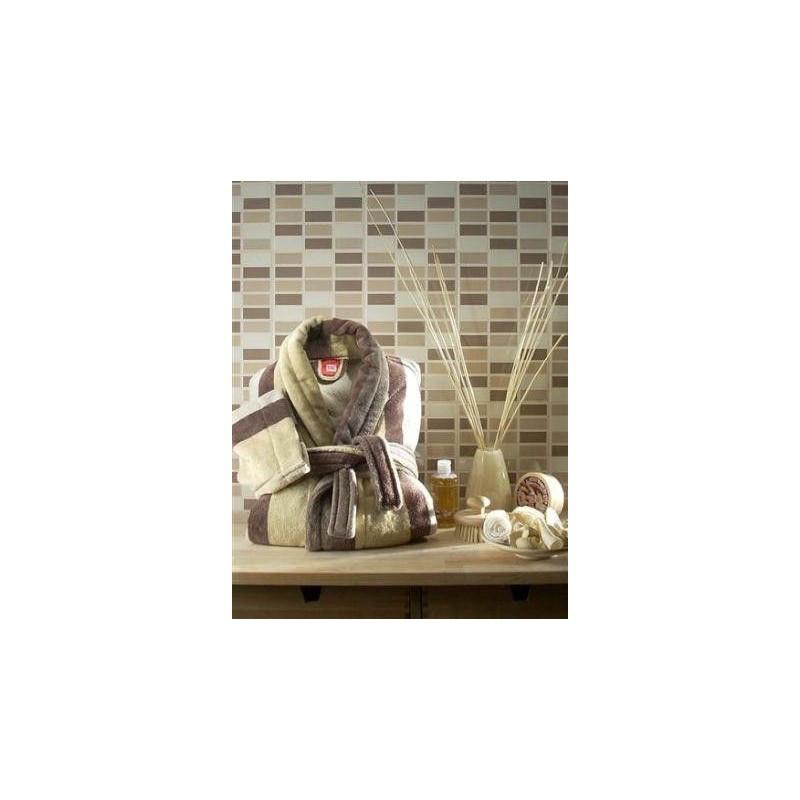 Домашняя одежда Tac - Халат махра Naturel Line S