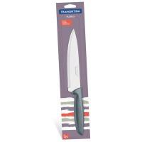 Поварской нож tramontina plenus grey chef 178мм (23426/167)