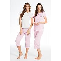 18b7a49856a4 Домашняя одежда U.S. Polo Assn - Футболка и бриджы 15587 молочные, S