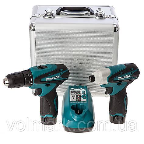 Набор инструментов Makita LCT204, фото 2