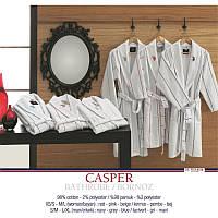 Домашняя одежда U.S.Polo Assn - Халат Casper S/M Gri бело-серый