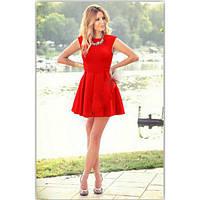 Красивое короткое платье разные цвета