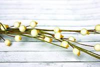 Веточка с ягодами белая (код 03334)