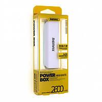 POWER BOX REMAX MINI WHITE 2600 mAh